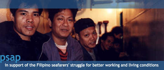 supporting the vision and the values of Filipino seafarers, aboard and ashore | You can view the psap-parola.org flash intro if you click here.